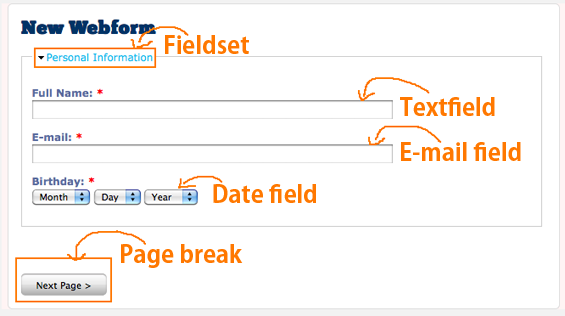 MULTI-PAGE FORM USING DRUPAL WEBFORM MODULE | Bright Web